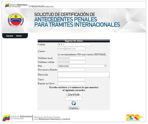 papeles para la carta de antecedentes no penales 2016 c 243 mo solicitar certificado de antecedentes penales para