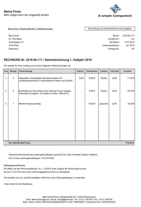 Rechnung Muster Bewirtung Excel Rechnungserstellung