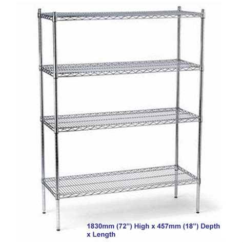 Shelf Depth by Fed Shelving Kits 1120mm X 457mm Depth Rl928 Steel