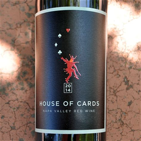 house of cards winery house of cards 2014 napa valley red wine the wine spies