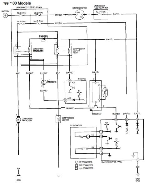 2005 honda odyssey horn relay wiring diagrams repair