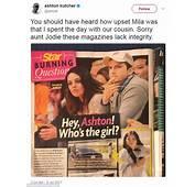 Ashton Kutcher Shades Star Mag For False Cheating Story