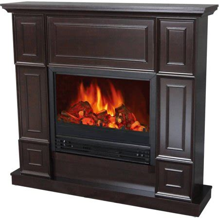 decor electric fireplace space heater with 44 quot wide