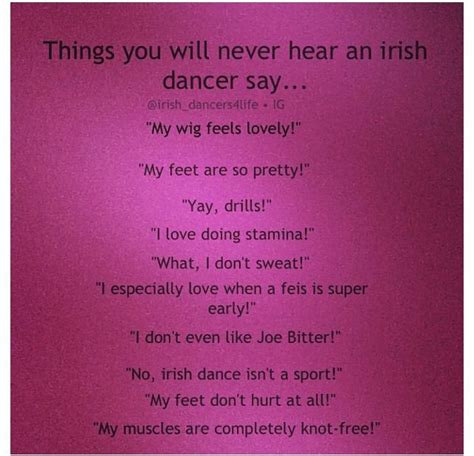 9 Things Your Guests Will Never Say by Things You Will Never Hear An Dancer Say