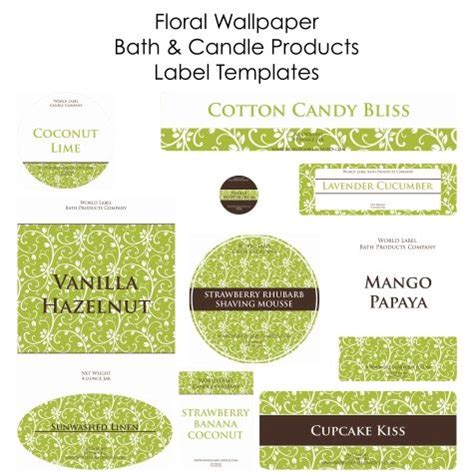 product label templates free 17 best ideas about candle labels on candle