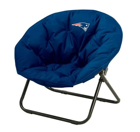 patriots chair nfl new patriots team logo dish sphere chair