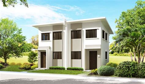 Townhome Floor Plan Designs Puerto Princesa City Palawan Real Estate Home Lot For