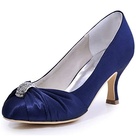 Brautschuhe Blau Satin brautschuhe in blau f 252 r frauen damenmode in blau bei fashn de