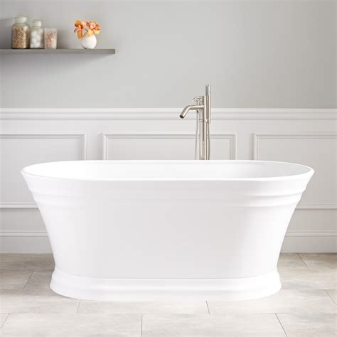 freestanding acrylic bathtubs odenwald acrylic freestanding tub bathtubs bathroom
