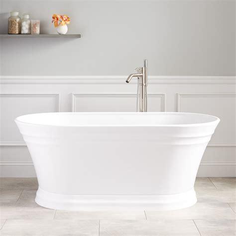 acrylic freestanding bathtubs odenwald acrylic freestanding tub bathtubs bathroom