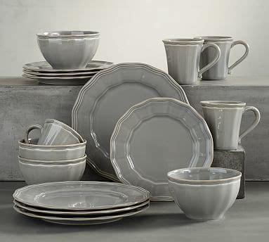 charlotte  piece dinnerware set pottery barn
