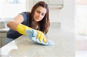 at home cleaning swapping your kitchen cloth for disinfectant wipes can