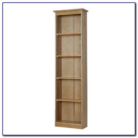 narrow bookcases uk narrow bookcase with doors bookcase home design