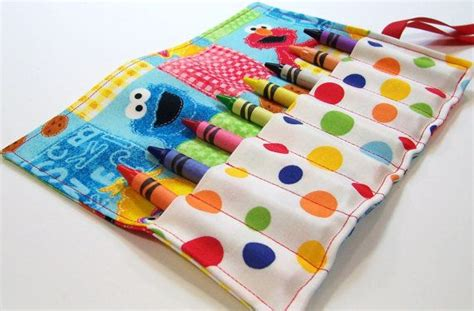 pattern for crayon roll up crayon roll school ideas pinterest