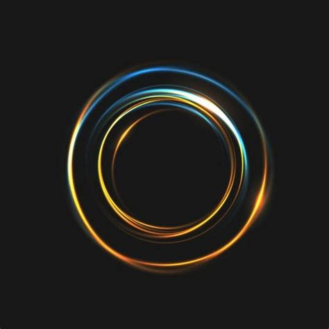 circle light for light circle effect background vector 01 vector