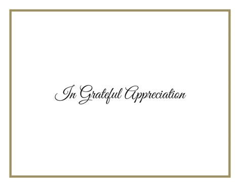 Funeral Acknowledgement Cards Template by Acknowledgement Card Ac3 Standard Memorial Printers