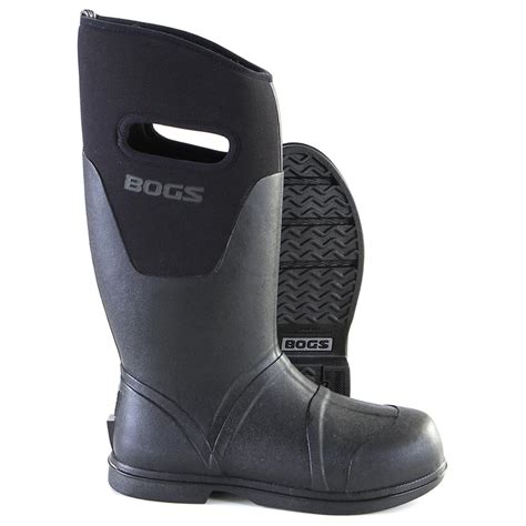 mens bogs boots s bogs 174 tradesman boots 183510 rubber