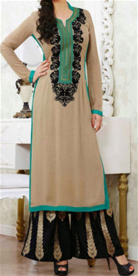 simple plazo suit stylish plazo suit dress designs 2017 top kurtis new style pic