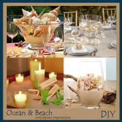 Diy beach wedding theme centerpiece ideas storkie com