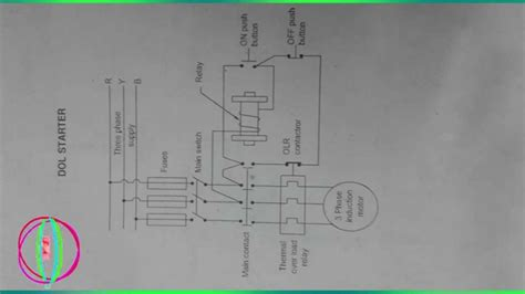 dol starter diagram dol starter circuit diagram books direct starter