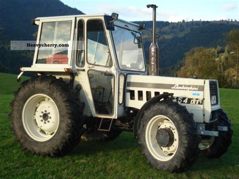 Lamborghini 654 Dt by Lamborghini 654 Dt 1980 Agricultural Tractor Photo And Specs
