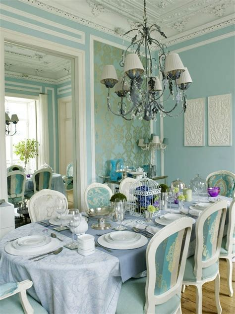 light blue dining room home is where the is