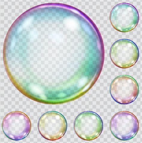 colored bubbles transparent colored vector illustration 02 welovesolo