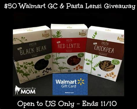 Consolidate Walmart Gift Cards - 50 walmart gift card pasta lensi giveaway it s free at last
