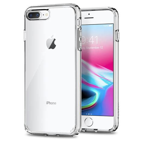 spigen iphone 7 plus 8 plus ultra hybrid 2 clear