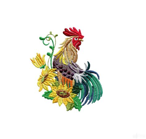 embroidery design rooster swnrr109 rooster embroidery design