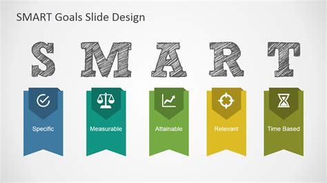 smart goals slide design for powerpoint slidemodel