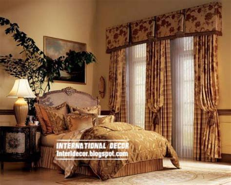 style of curtains for bedroom 10 latest classic curtain designs style for bedroom 2015