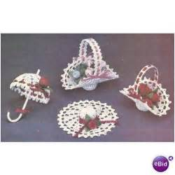 crochet christmas pattern christmas tree ornaments on ebid
