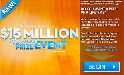 Pch 1 Million Entry - house of sweepstakes pch win 15 000 000 00 prize of lifetime