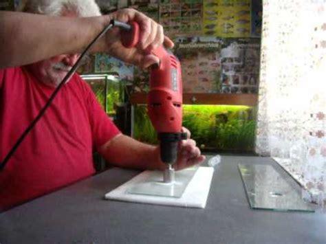 faire un trou dans du verre 5114 percer du verre