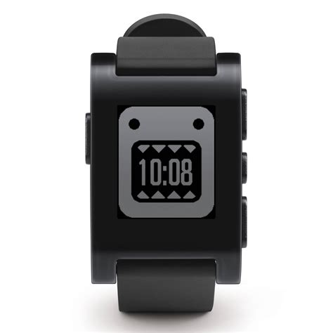 Smartwatch Pebble pebble smartwatch jet black 301bl b h photo