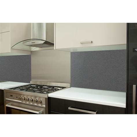 Bunnings Splashbacks For Kitchens highgrove 600mm blast grey glass splashback bunnings