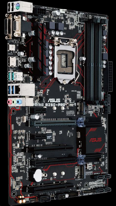 Asus Lga1151 Prime B250 Pro Mainboard Motherboard prime b250 pro motherboards asus global