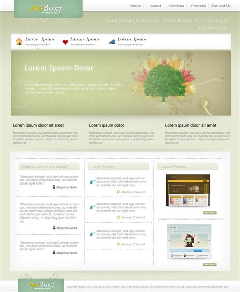 layout web clean clean psd web layout by artbox7 com on deviantart