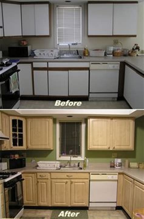 painting or refacing formica cabinets 1000 ideas about laminate cabinet makeover on pinterest
