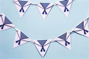 nautical theme mini bunting sailor theme nautical theme party