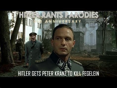Hitler Reacts Meme - hitler gets peter kranz to kill fegelein downfall