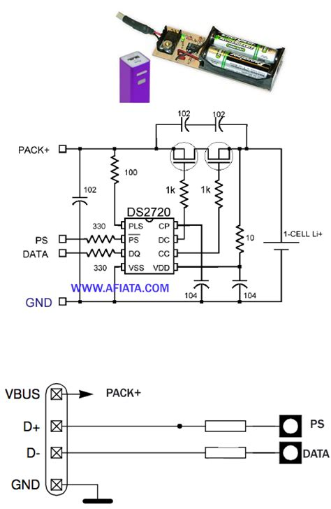 usb power bank circuit electronic circuit diagram  layout
