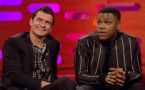 orlando bloom graham norton star wars last jedi john boyega on how finn role ruined