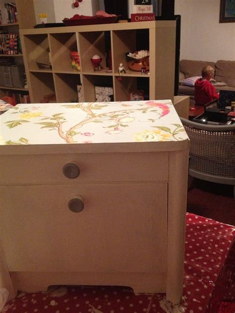 autentico chalk paint duck egg bedside cabinet finished mix of as duck egg and autentico