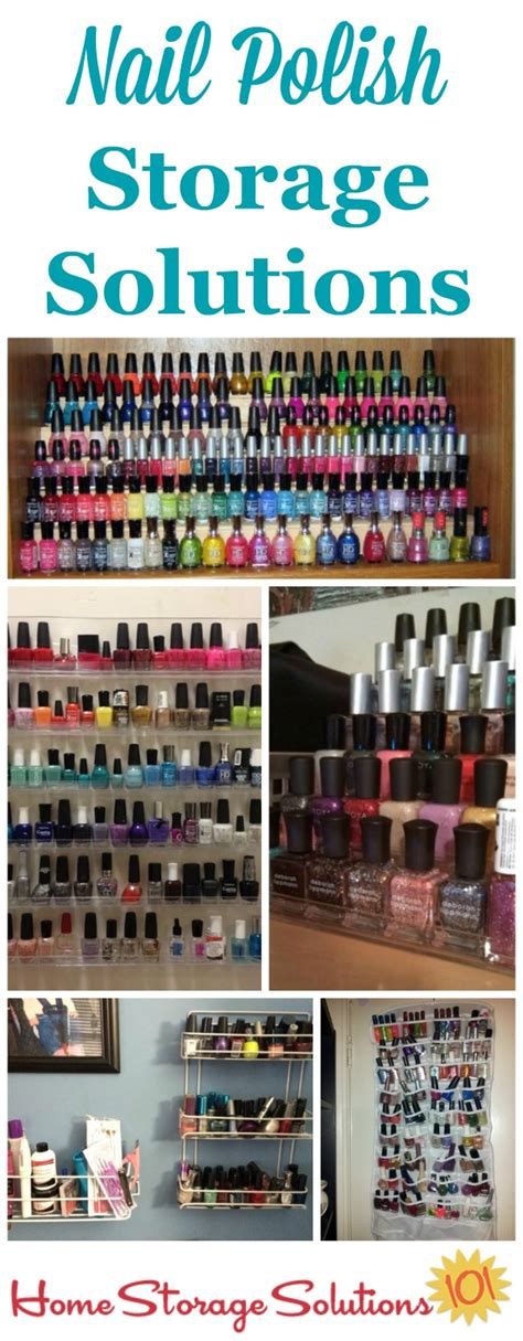 home storage solutions 101 nail polish storage ideas organization solutions
