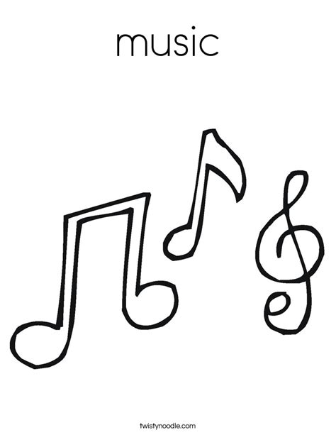 Quarter Note Picture Cliparts Co Quarter Note Coloring Page