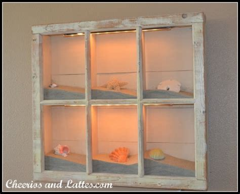 window box picture frames 100 ways to use windows seashell shadow boxes