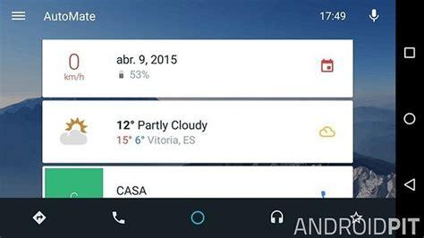 automate android automate una aplicaci 243 n para tener android auto gratis en el coche androidpit