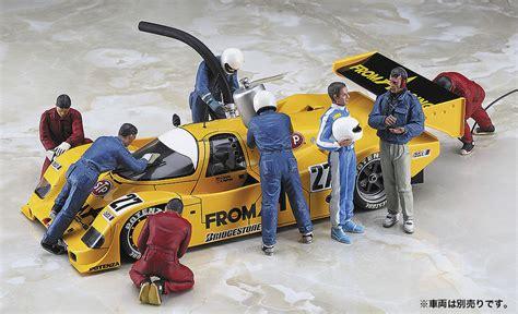 figure set 1 24 racing figures 10 figure set has 20295 hasegawa